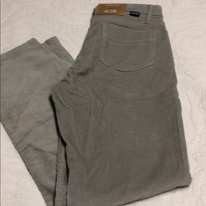 Patagonia Organic Cotton Gray Corduroy Pants